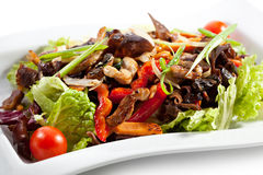 Chinese - Meat with Black Fungus Stock Photos