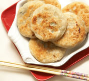 Chinese meat pie Royalty Free Stock Photos