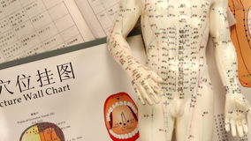 Chinese Medicine - Acupuncture Royalty Free Stock Photo
