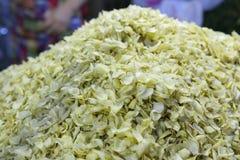 Chinese medicine baihe ( lilium ) Stock Images