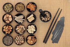 Chinese Medicine Royalty Free Stock Photo