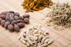 Chinese medicine and herbs Stock Photo