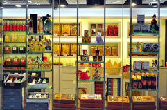 Chinese medicine retail store, hong kong Stock Photography