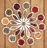Chinese Medicine Sampler Stock Photography