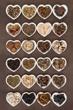 Chinese Medicine Selection Stock Photos