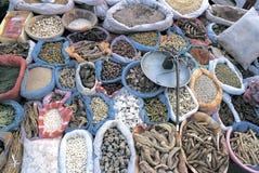 Chinese medicine stalls Stock Image