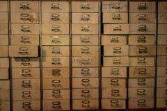 Chinese medicine wood cabinet, shelf, vintage drawer, Chinese he. Rbal medicine stock photo
