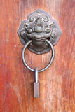 Chinese metal door knob Stock Images