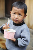 The chinese miao child Royalty Free Stock Images