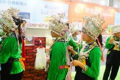 Chinese Miao girls Royalty Free Stock Image