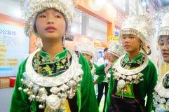 Chinese Miao girls Stock Image