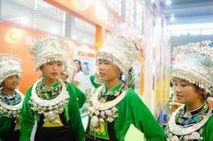 Chinese Miao girls Royalty Free Stock Photo