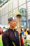 Chinese Miao man Royalty Free Stock Photos