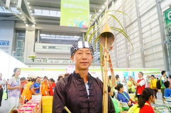 Chinese Miao man Royalty Free Stock Images