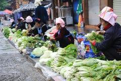 Chinese miao Street vendor Stock Image