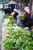 Chinese miao Street vendor Royalty Free Stock Photos