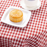 Chinese mid autumn festival foods. Royalty Free Stock Photography