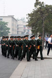 Chinese Military in Beijing Stock Images
