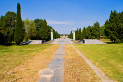 Chinese Ming Dynasty imperial tombs in zhongxiang  Royalty Free Stock Photography