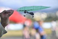 Chinese mini kite. Royalty Free Stock Images