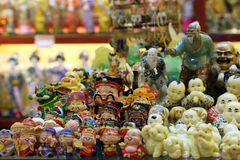 Chinese miniature figurines Royalty Free Stock Photo