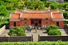 Chinese miniature house royalty free stock images