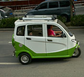 Chinese minicar Stock Image