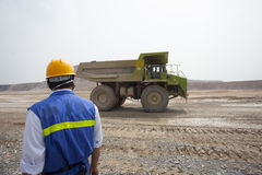 Chinese mining worker Royalty Free Stock Photo