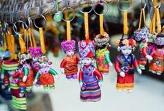 Chinese minority doll Royalty Free Stock Photos