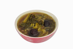 Chinese mixture of vegetables soup Stock Photo