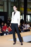 Chinese models in Shenzhen Fashion Week. CHINA, SHENZHEN - SEPTEMBER 27: Fashion Week, models promote European brands, September 27, 2009 in Shenzhen, China Stock Photo