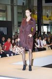 Chinese models in Shenzhen Fashion Week. CHINA, SHENZHEN - SEPTEMBER 27: Fashion Week, models promote European brands, September 27, 2009 in Shenzhen, China Royalty Free Stock Image
