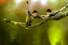 Chinese modern dance Royalty Free Stock Image