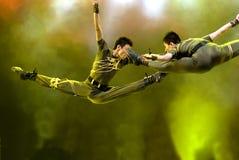 Chinese modern dance Royalty Free Stock Image
