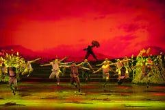 Chinese modern dance drama Royalty Free Stock Photography