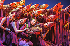 Chinese Modern Dance Drama Stock Images