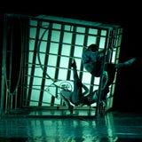 Chinese modern dance drama : Railway Guerrillas Stock Image
