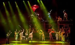 Chinese modern dance drama show Stock Image
