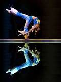Chinese modern dance : Sword Orchid Stock Photo
