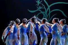 Chinese modern dancer Royalty Free Stock Photos