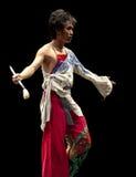Chinese modern dancer Stock Image