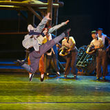 Chinese modern dancer Royalty Free Stock Photo