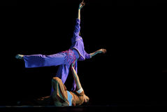 Chinese modern dancer Stock Photography
