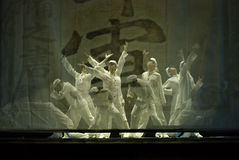 Chinese modern Group dance Stock Images