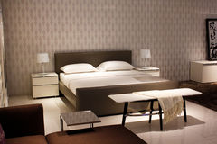 chinese bedroom furniture. Chinese Modern Style Furniture - Bedroom Royalty Free Stock Photo