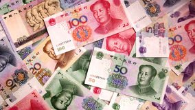 Chinese money Royalty Free Stock Photo