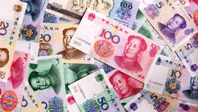Chinese money Royalty Free Stock Images