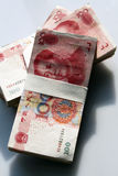 Chinese money. The chinese money on the white background Stock Photos
