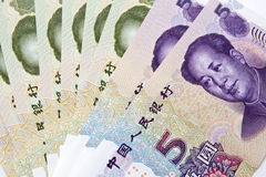Chinese money background Stock Images