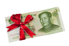 Chinese money gift Stock Photography